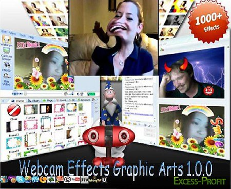 Webcam Effects Graphic Arts 1.0.0 / Eng
