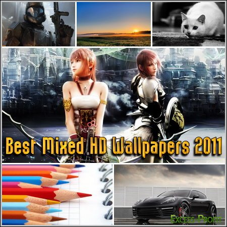 Best Mixed HD Wallpapers 2011
