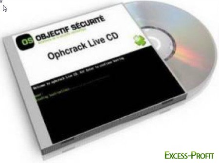 OPHCrack LiveCD 2.3.1