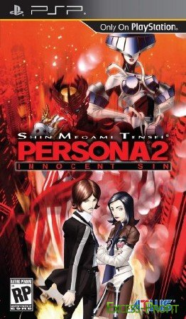 Persona 2: Innocent Sin (2011/PSP/Eng)
