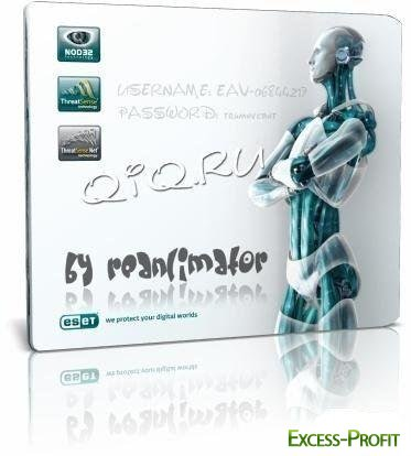 Cвежие Ключи для NOD32 Antivirus, Eset Smart Security 2, 3, 4 от 24.09.2011