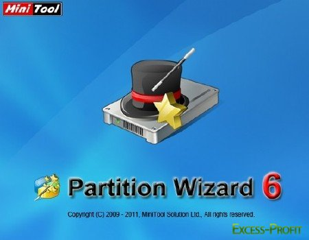 MiniTool Partition Wizard Professional Edition 6.0 RUS Portable portable