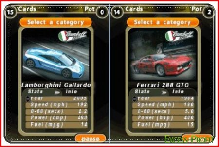 Top Trumps Supercars 2 Bluetooth / Козырные тачки 2
