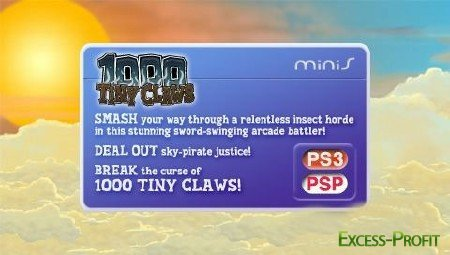 1000 Tiny Claws(2011/PSP/ENG)