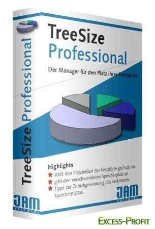 JAM Software TreeSize Professional 5.5.3.793 Retail