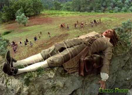 ����������� ��������� (2 ����� �� 2) / Gulliver's Travels (1996 / DVDRip)