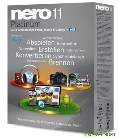 Nero Lite 11.0.15800 Portable By Koma [32bit+64bit/Русский]
