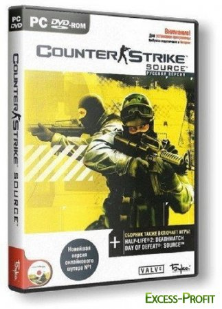 Counter-Strike Source (2011/PC/Rus) RePack �� DXPort