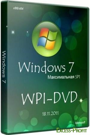 Microsoft Windows 7 �������� ������������ SP1 x86/x64 WPI - DVD 18.11.2011