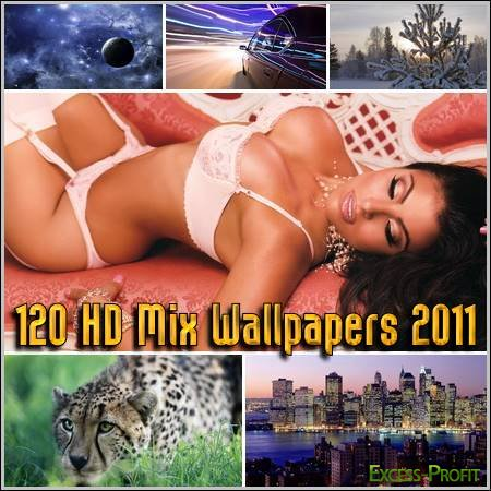 120 HD Mix Wallpapers 2011