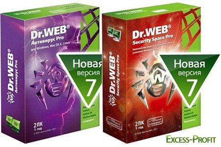 Dr.Web 7.0 Antivirus/Security Space Offline Update (26.12.2011)
