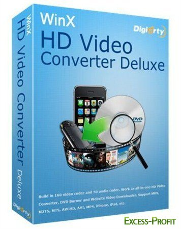 WinX HD Video Converter Deluxe 3.12.1 Build 2011214 + �����������