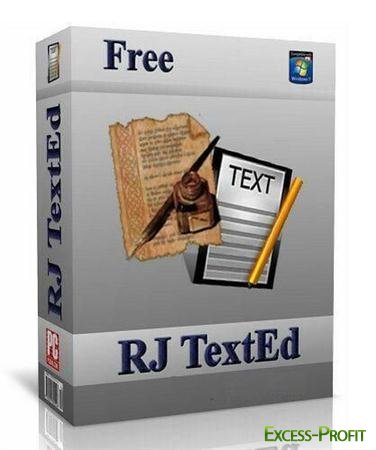 RJ TextEd 7.81 Final Portable Version