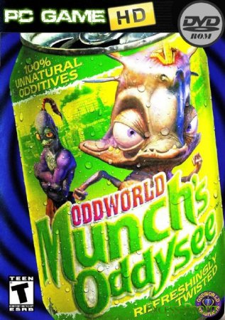 Oddworld: Munch's Oddysee (2010/HD/RUS/Repack by Kirill Гамес)