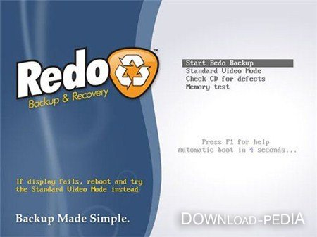 Redo Backup and Recovery 1.0.2