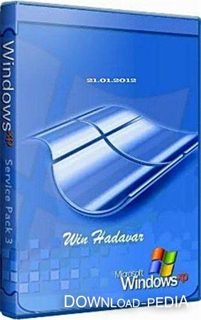 Windows XP sp3 Rus Hadavar XP (21.01.2012/Rus)