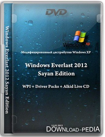 Windows XP Everlast 2012 Sayan Edition (x86/RUS/2012)