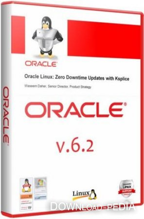 Oracle Linux 6.2 [i386 + x86_64] (2xDVD)