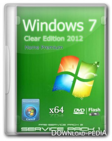 Windows 7 Home Premium SP1 Update 24.01.2012 (x64) by MSware