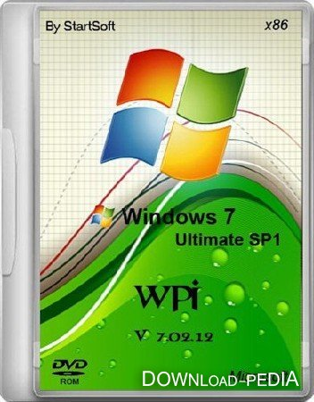 Windows 7 Ultimate SP1 x32 x64 WPI By StartSoft v 7.02.12 (2012/RUS)