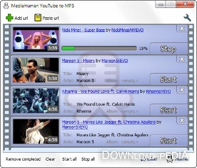 MediaHuman YouTube to MP3 Converter 2. 0(2012).