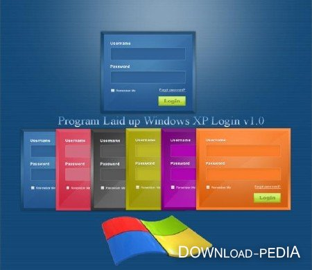 Program Laid up Windows XP Login v1.0