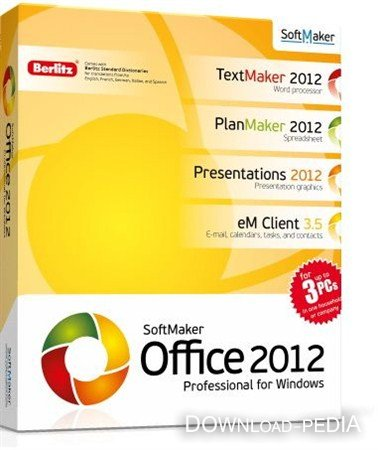 SoftMaker Office Professional 2012 rev 656 Retail