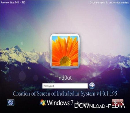 Creation of Screen of Included in System v1.0.1.195