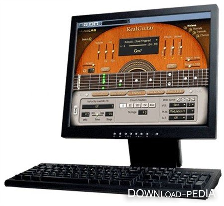 MusicLab RealGuitar 2.3L (2011) DXI.VST.Standalone (Eng)