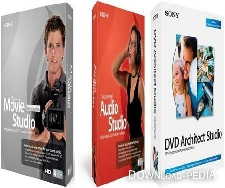 SONY Vegas Movie Studio HD Platinum Suite Portable
