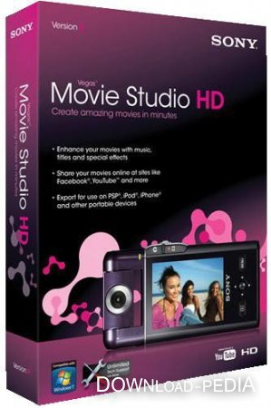 Sony Vegas Movie Studio HD v11.0.42