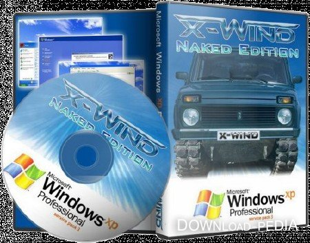 Windows XP Professional SP3 (X-Wind) by YikxX, RUS, VL, x86, AHCIRAID Adv Naked Edition (01.03.2012)