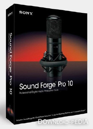 Sony Sound Forge Pro 10.0.368 Rus