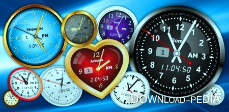 Free Vector Clocks 2.40 / ���� - ���������� ��� ������ ����� (2011�.)