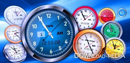 Free Vector Clocks 2.40 / ���� - ���������� ��� ������ �����. (2011�.)