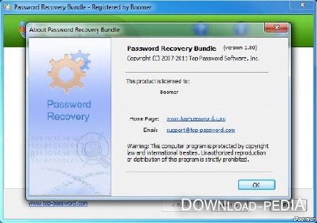 Password Recovery Bundle 2012 v2.10 Portable