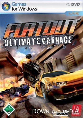 FlatOut: Ultimate Carnage (2008/RUS/RePack by R.G. Virtus)