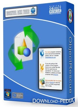 ObjectRescue Pro 6.5 build 989 RePack/Portable by Boomer