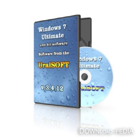Windows 7x64 Ultimate UralSOFT v.3.4.12