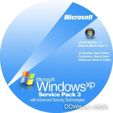 Microsoft Windows� XP Professional SP3 VL 5.1.2600.5512 (RUS/ENG)