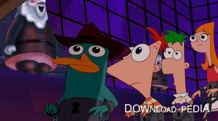 ����� � ����: ������ ������ ��������� / Phineas and Ferb the Movie: Across the 2nd Dimension (2011) DVDRip