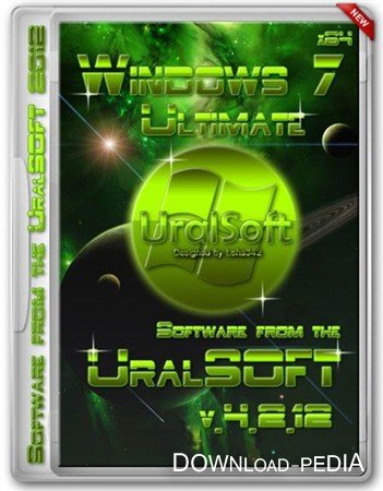 Windows 7 Ultimate UralSOFT v.4.2.12(x64/RUS/2012)