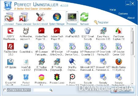 Perfect Uninstaller 6.3.3.9 Datecode 09.04.2012 Portable (ENG) 2012