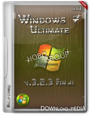 Windows 7 Ultimate x64 by HoBo-Group v.3.2.3 Final (RUS/2012)