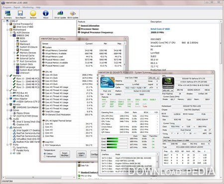 HWiNFO32 3.95 Build 1600 Final