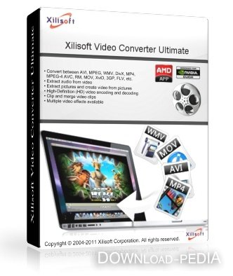 Xilisoft Video Converter Ultimate 7.2.0 build 20120420 RePack (ENG/RUS) 2012