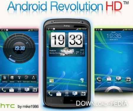 Android Revolution HD v6.6.0 HTC Sensation, HTC Sensation XE (Android 4.0.3/ MULTI)