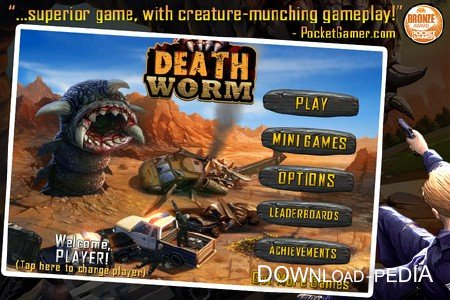 Death Worm v1.10 [iPhone/iPod Touch]
