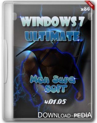 Windows 7 Ultimate x86 Men Sura Soft v.01.05 (2012/Rus)