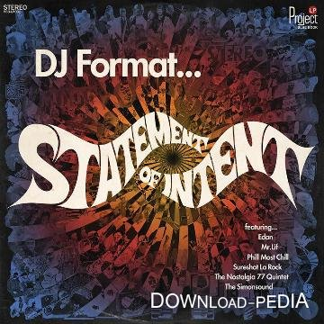 Dj Format – Statement Of Intent (2012)
